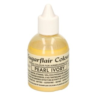 sugarflair Sugarflair Airbrush Colouring -Pearl Ivory- 60ml