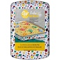 Wilton Wilton Semi-Disposable Tin Geo Oblong 22x32cm
