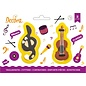 Decora Decora G Sleutel & Viool Muziek Koekjes Uitsteker set/2