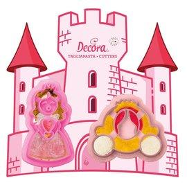 Decora Decora Prinses & Koets Uitsteker set/2
