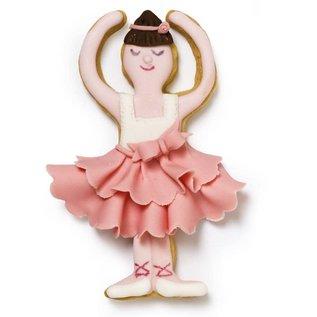 Decora Decora Ballerina & Balletschoen Koekjes Uitsteker set/2