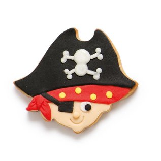 Decora Decora Piraat & Zwaard Koekjes Uitsteker set/2