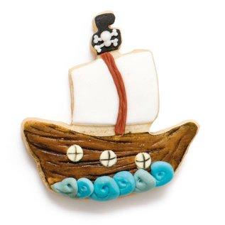 Decora Decora Doodshoofd & Piratenschip Koekjes Uitsteker set/2