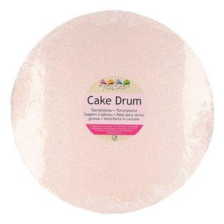 FunCakes FunCakes Cake Drum Rond 25cm -Rose Goud-