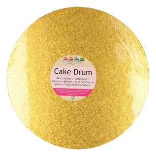 FunCakes FunCakes Cake Drum Rond Ø30,5cm -Goud-