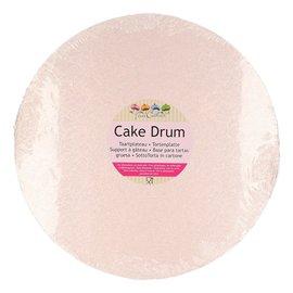 FunCakes FunCakes Cake Drum Rond 30,5cm -Rose Goud-