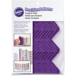 Wilton Wilton Silicone Precision Patterns -Herringbone-