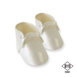 PME PME Edible Cake Topper Baby Bootee Pearl pk/2