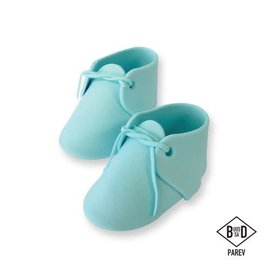PME PME Edible Cake Topper Baby Bootee Blue pk/2