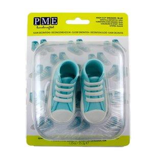 PME PME Edible Cake Topper High Cut Sneaker -Blue-