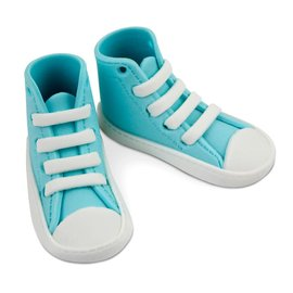 PME PME Edible Cake Topper High Cut Sneaker -Blue-