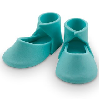 PME PME Edible Cake Topper Medium Baby Bootee -Blue-