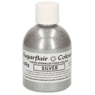 sugarflair Sugarflair Sugar Sprinkles -Silver- 100g