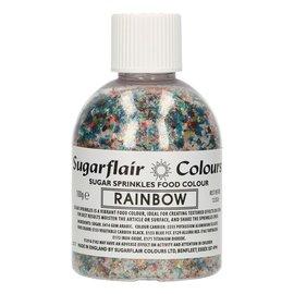 sugarflair Sugarflair Sugar Sprinkles -Rainbow- 100g
