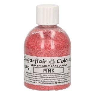 sugarflair Sugarflair Sugar Sprinkles -Pink- 100g