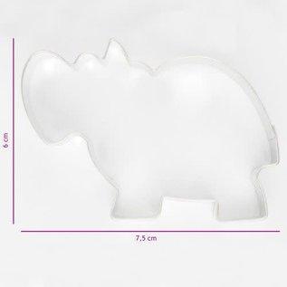 Koekjes Uitsteker Nijlpaard 7,5 cm