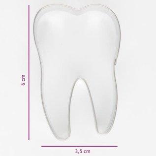 Koekjes Uitsteker Tand 6 cm