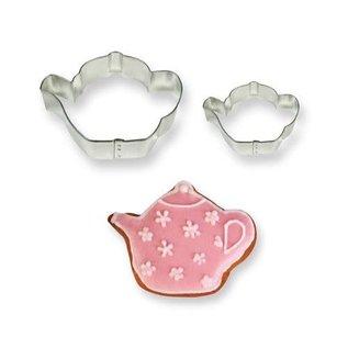 PME PME Cookie Cutter Teapot set/2