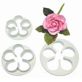 PME PME 5 Petal Cutter Set/3 LARGE