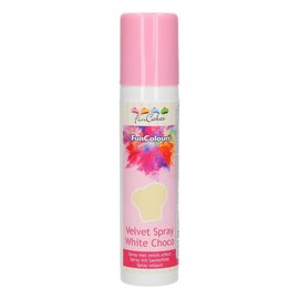 FunCakes FunColours Velvet Spray -White Choco- 100ml