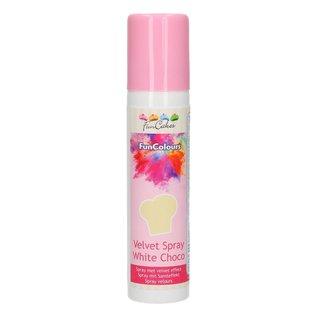 FunCakes FunColours Velvet Spray -White Choco- 100ml