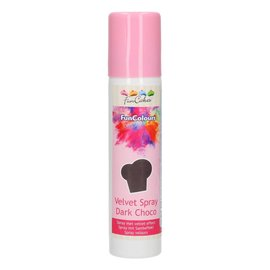 FunCakes FunColours Velvet Spray -Dark Choco- 100ml