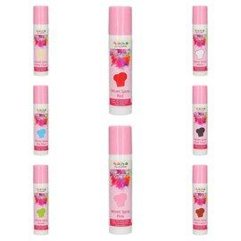 FunCakes Velvet Sprays FunCakes #ikwilzeallemaal 8 stuks