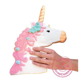 ScrapCooking bakrand XXL Unicorn / Eenhoorn