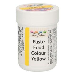 FunCakes Funcolours Paste Food Colour - Yellow 30g