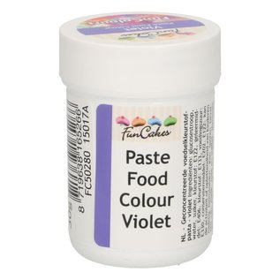 FunCakes FunColours Paste Food Colour - Violet 30g