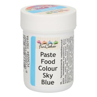 FunCakes FunColours Paste Food Colour - Sky Blue 30g