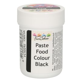 FunCakes FunColours Paste Food Colour - Black 30g