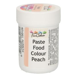 FunCakes FunColours Paste Food Colour - Peach 30g