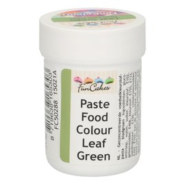 FunCakes FunColours Paste Food Colour - Leaf Green 30g