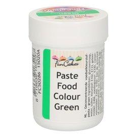 FunCakes FunColours Paste Food Colour - Green 30g