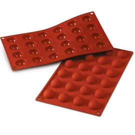 Silikomart Halve bolvorm siliconen 3 cm