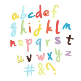 CakeStar Cake Star Push Easy Lower Case Script Alphabet Cutters Set/6