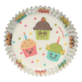 FunCakes FunCakes Baking Cups -Cupcake Party- pk/48
