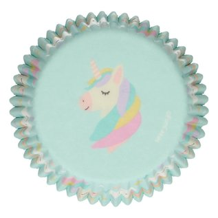 FunCakes FunCakes Baking Cups -Unicorn- pk/48