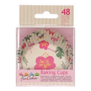 FunCakes FunCakes Baking Cups -Tropical- pk/48
