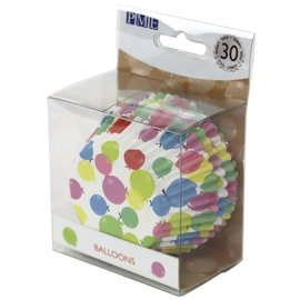PME PME Foil Lined Baking Cups Balloons pk/30
