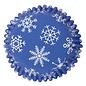PME PME Foil Lined Baking Cups Snowflake pk/30