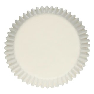 FunCakes FunCakes Baking Cups -White- pk/500
