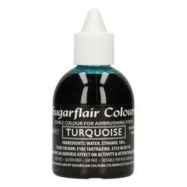 sugarflair Sugarflair Airbrush Colouring -Turquoise- 60ml