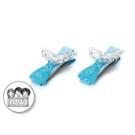 Snoepig Snoepig Haarknipjes - zeemeermin (blauw)