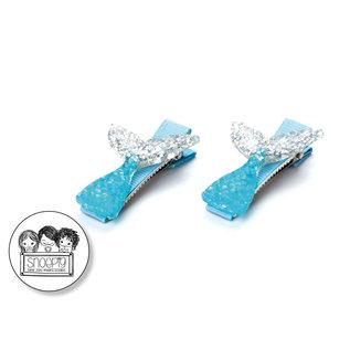 Snoepig Snoepig Haarknipjes Zeemeermin - Blauwe Staartjes