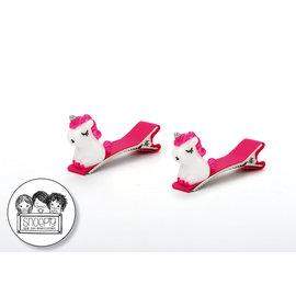 Snoepig Snoepig Haarknipjes Zittende unicorn