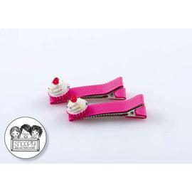 Snoepig Snoepig Haarknipjes - Cute Cupcakes