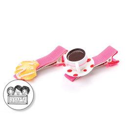 Snoepig Snoepig Haarknipjes Warme Choco & Koekje
