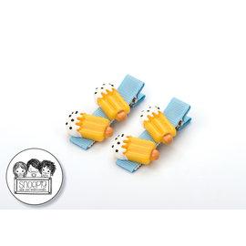 Snoepig Snoepig Haarknipjes - 2 waterijsjes (Blauwe Knipjes)